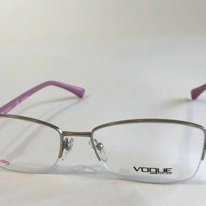 Vogue 3985-B 323-S Matte Silver 54-17-135 Eyeglass